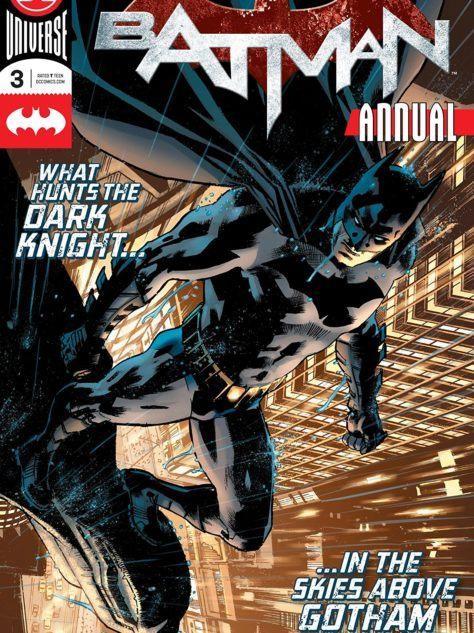 Batman Annual #3 Cover