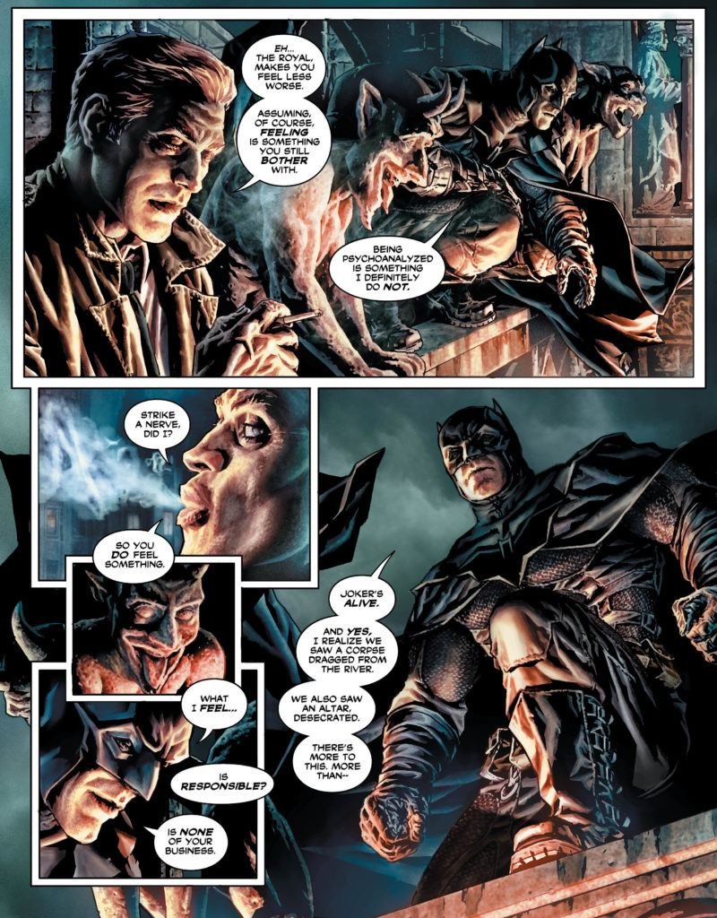 Batman Damned #2 Inside