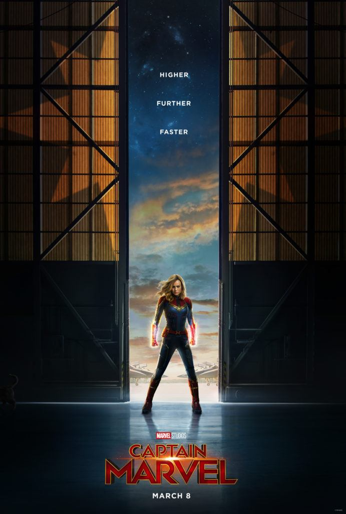 Captain Marvel official poster