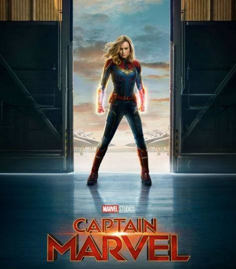 Captain Marvel poster cropped