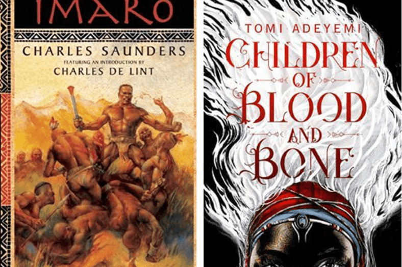 Imaro and Children of Blood and Bone book covers