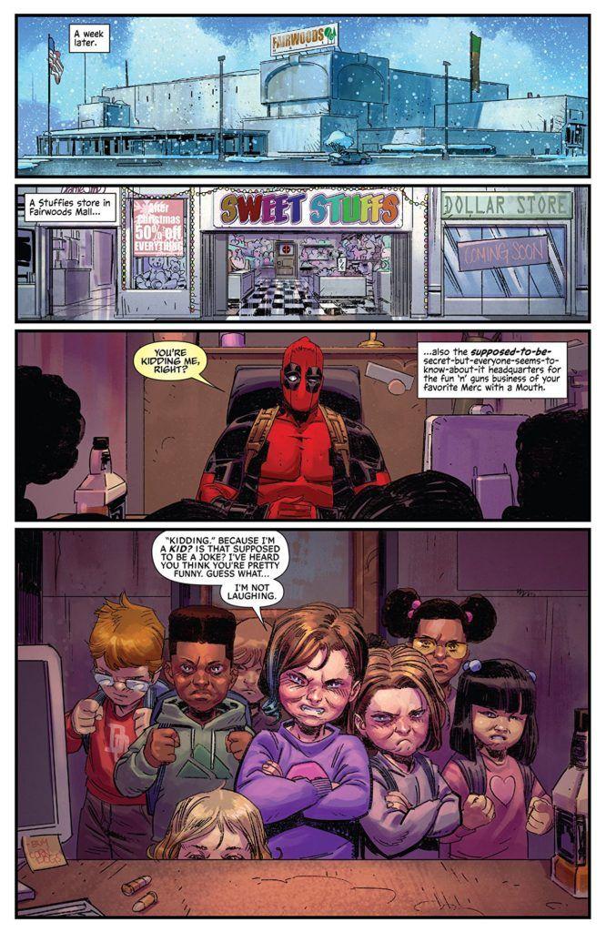 Deadpool #7 Inside