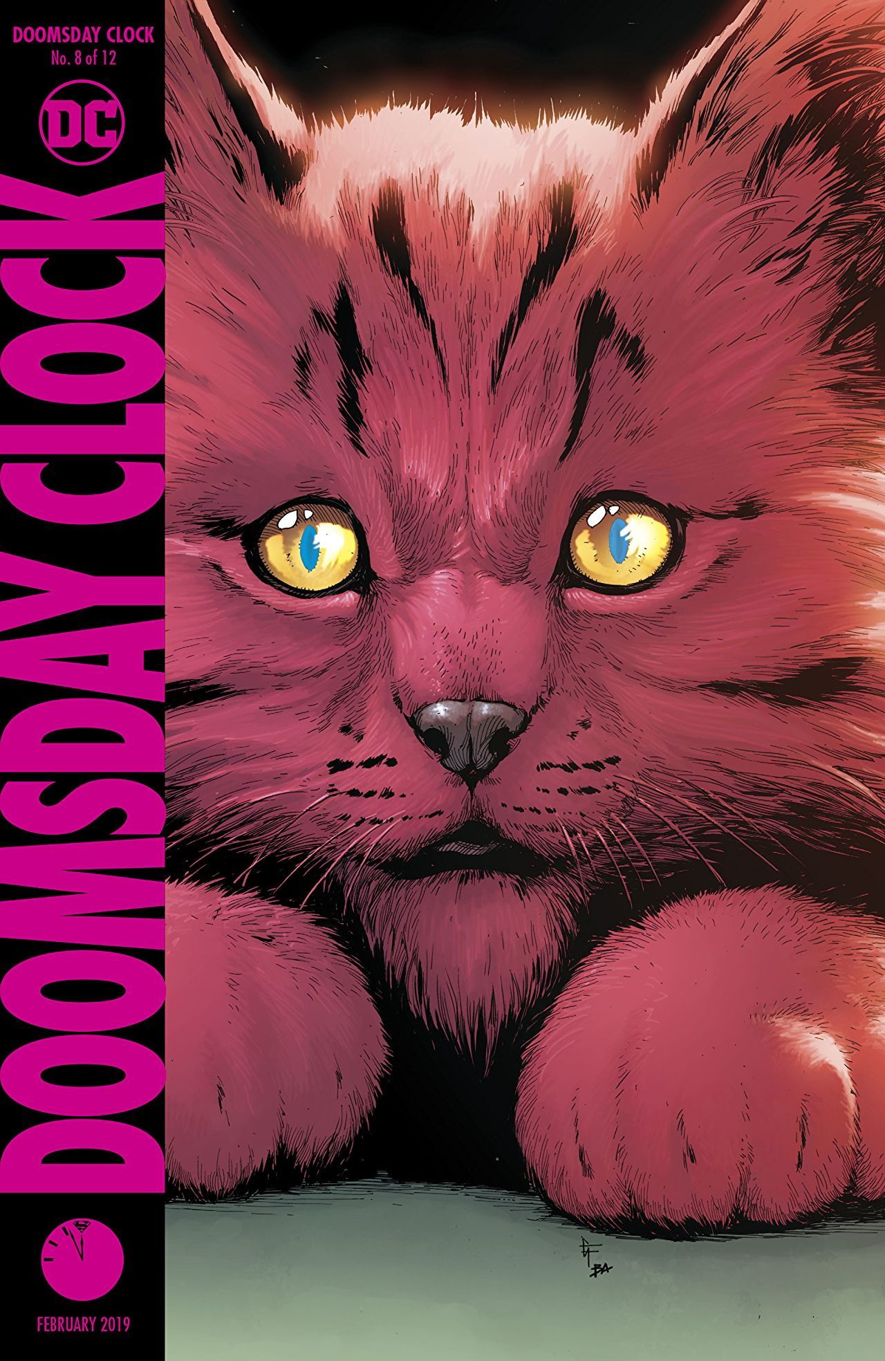Doomsday Clock 8 Cover