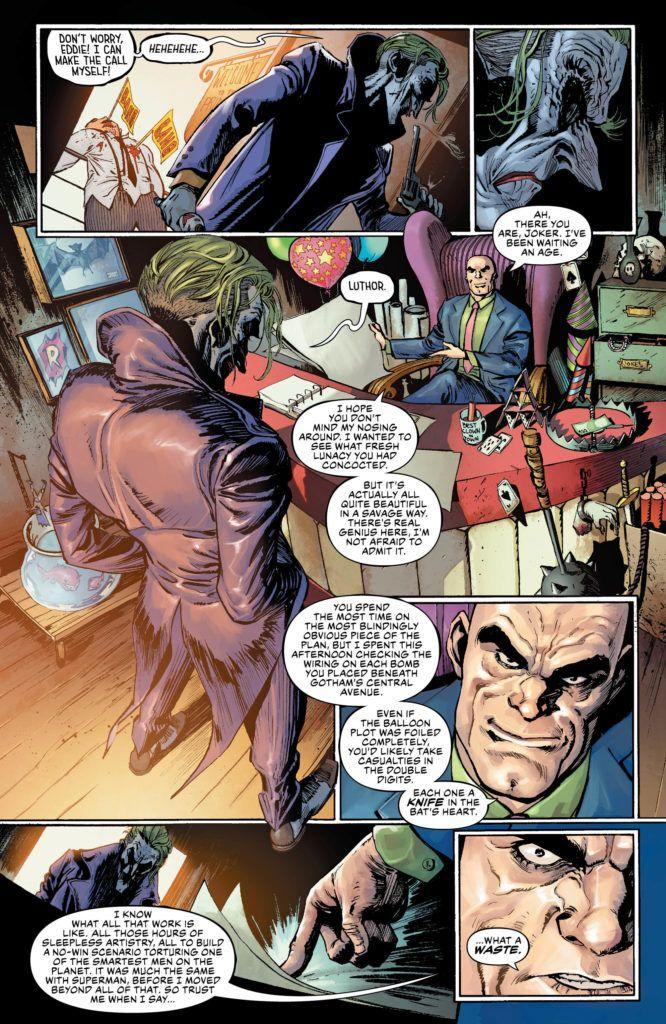 Justice League #13 Inside