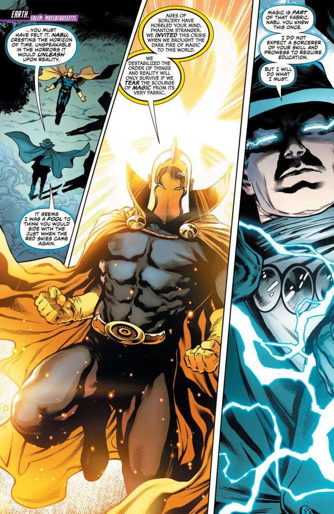 Justice League Dark #6 Inside