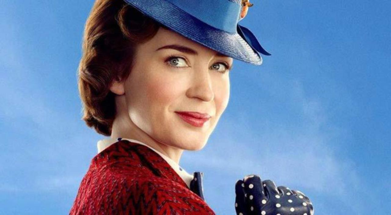 Emily Blunt as the new Mary Poppins