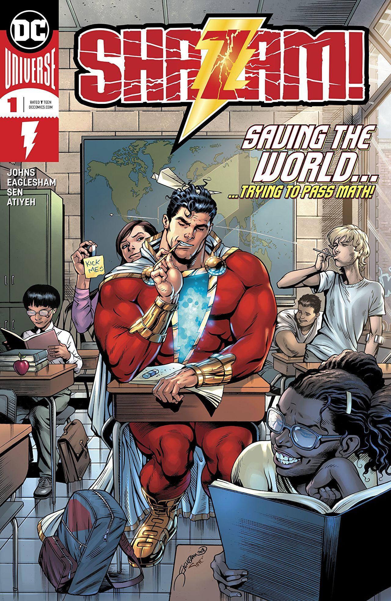 Shazam #1 Cover