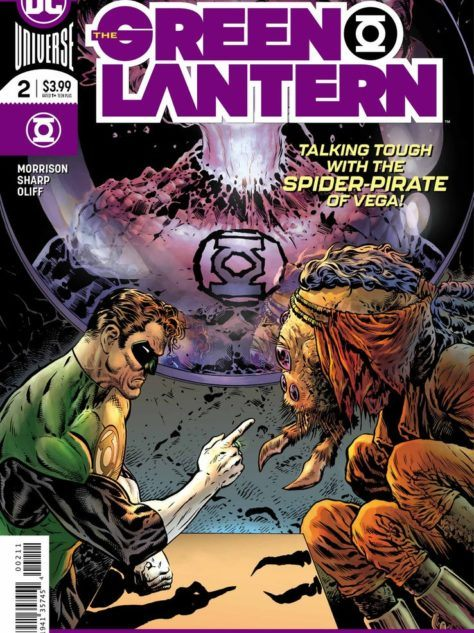 The Green Lantern Cover