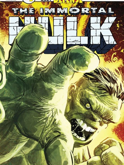 The Immortal Hulk #1 Cover