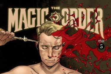 The Magic Order #5 Cover