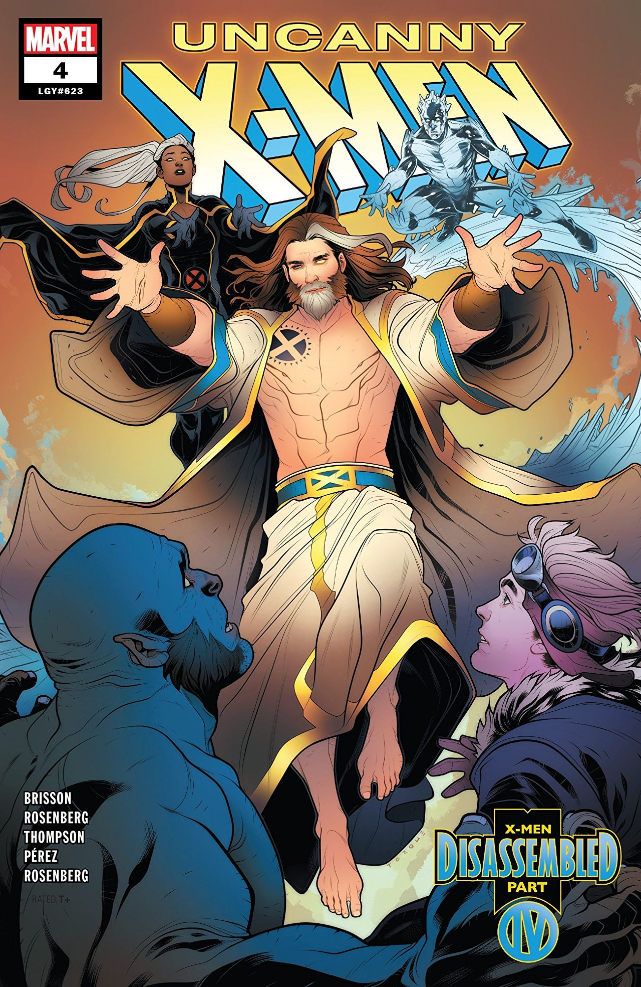 Uncanny X-Men #4 Cover