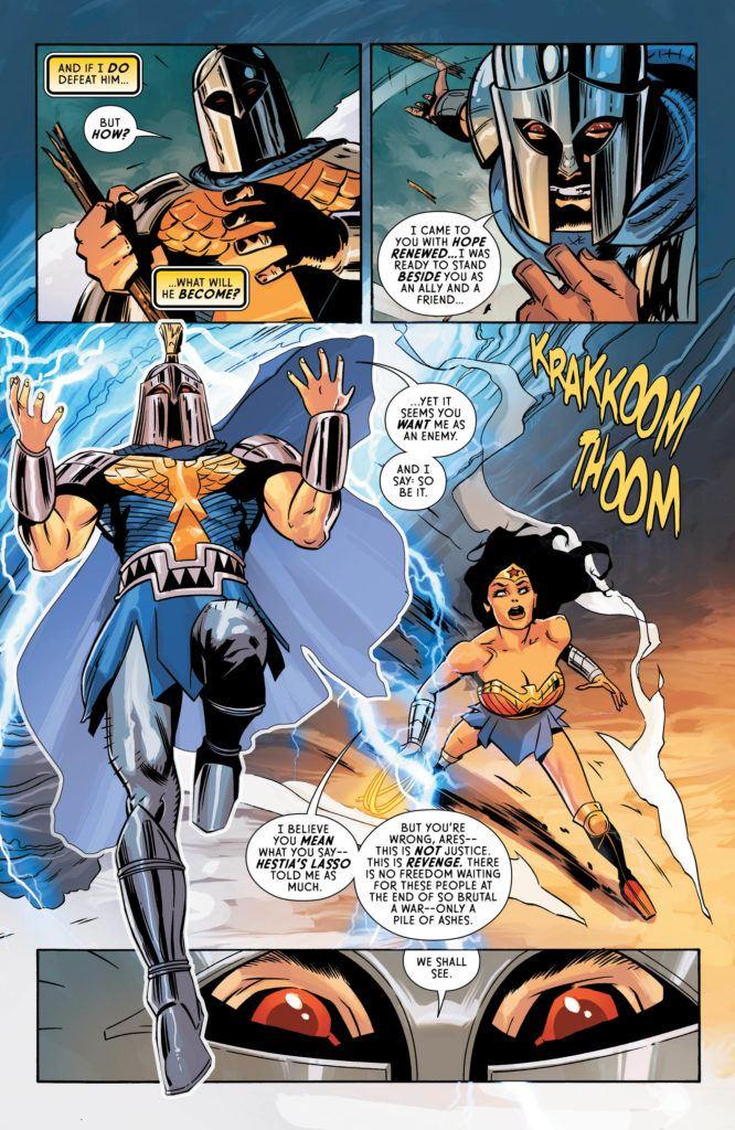 Wonder Woman #60 Inside