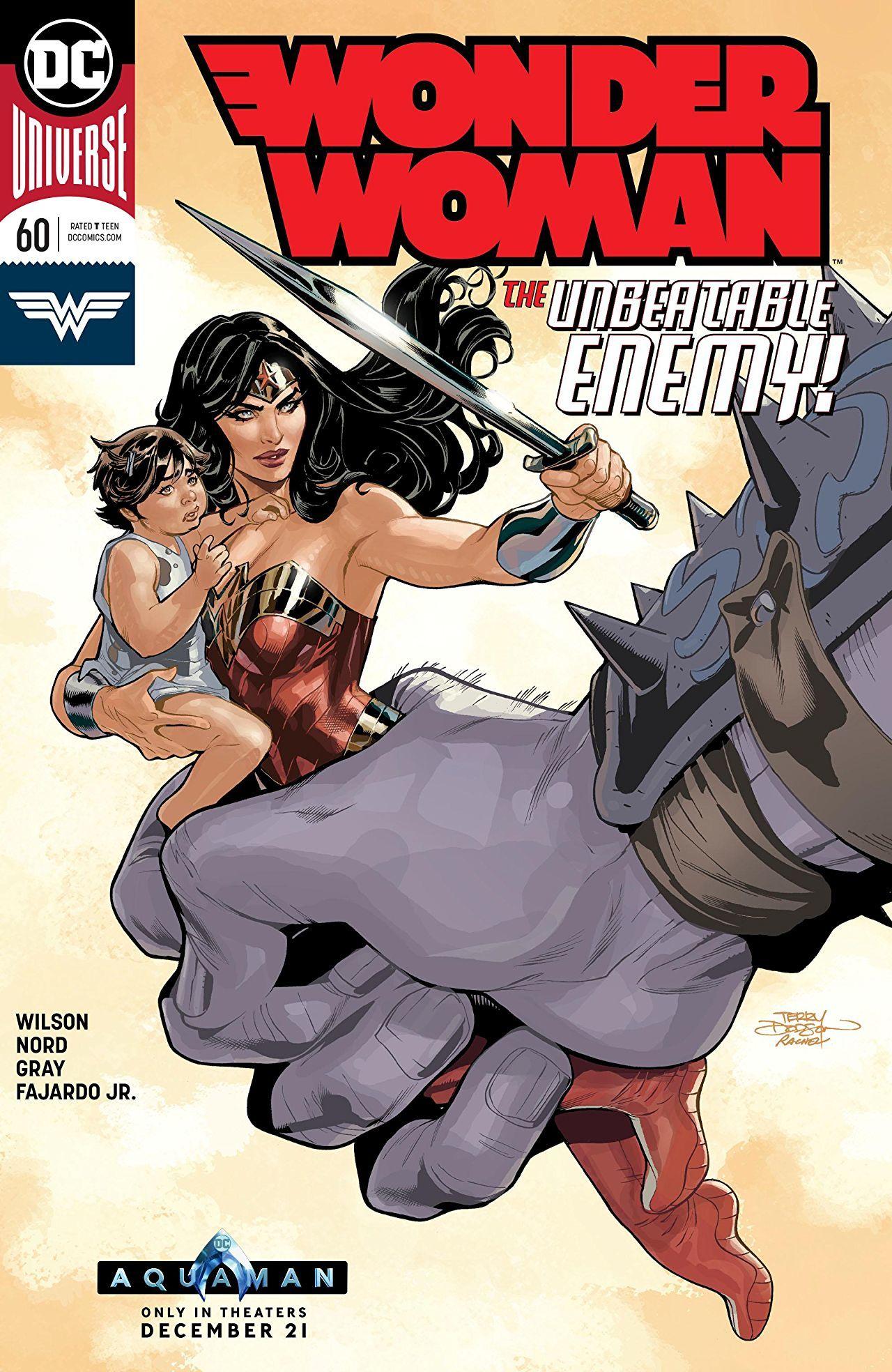 Wonder Woman #60 Cover