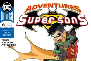 Adventures of the Super Sons #6 Cover