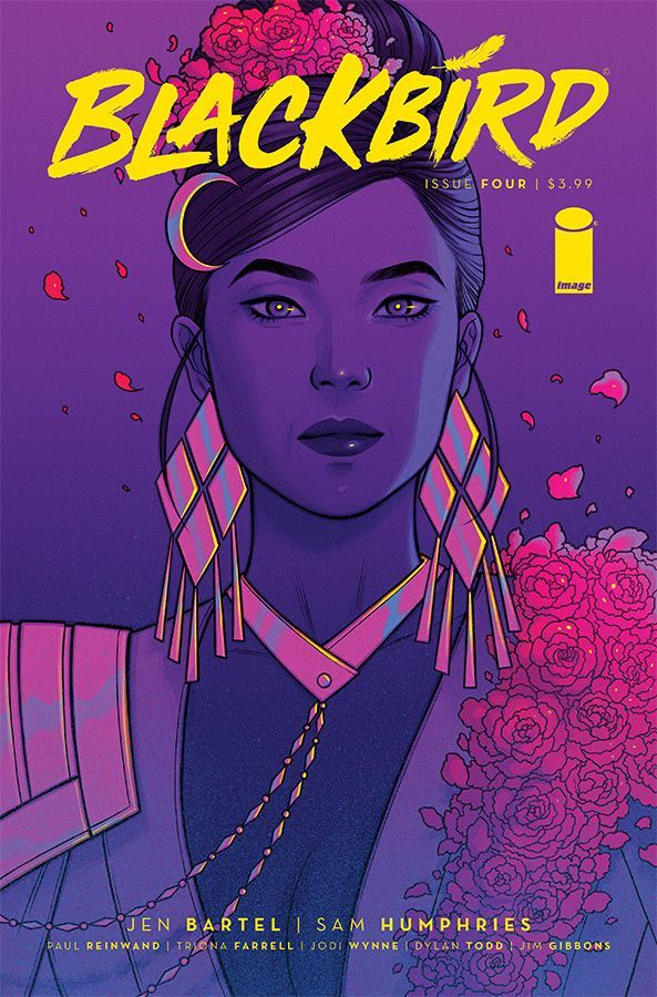 Blackbird #4 Cover