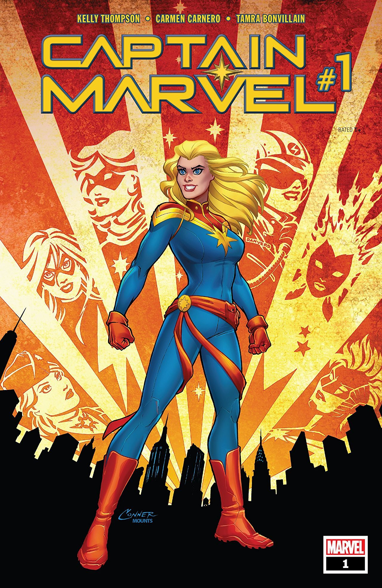 Captain Marvel #1 review