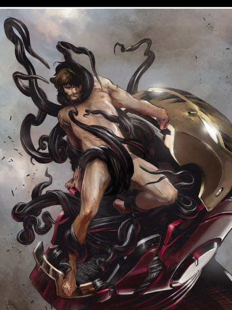Iron Man #7 Cover