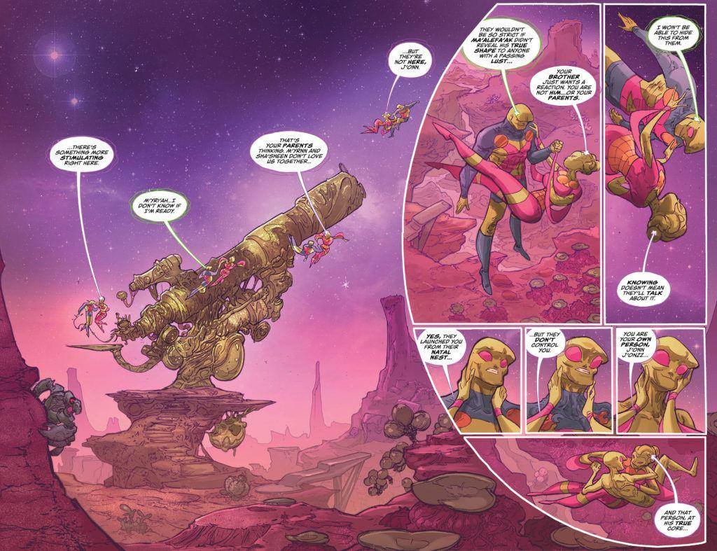 Martian Manhunter #2 Inside
