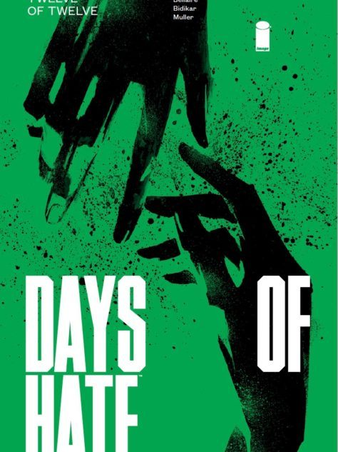 Days of Hate #12 cover