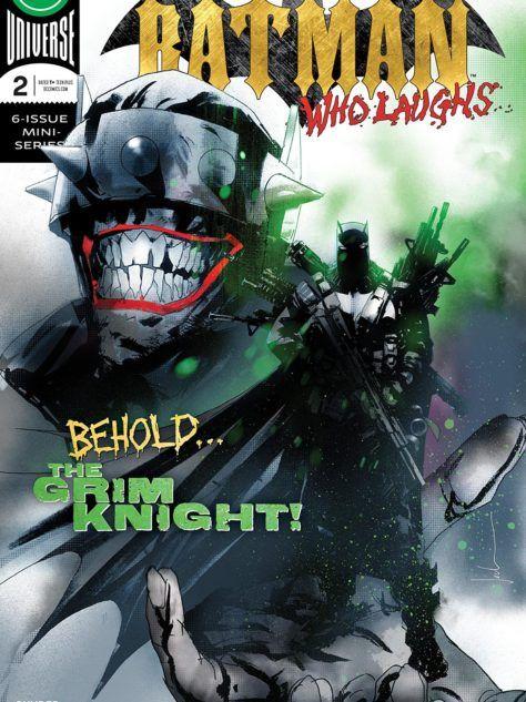 Batman Laughs #2 Cover