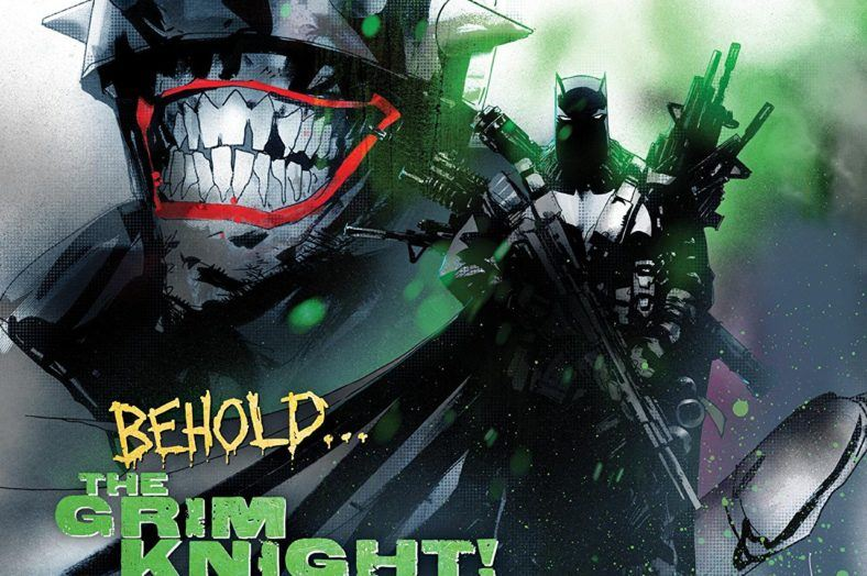 Batman Laughs #2 Cover