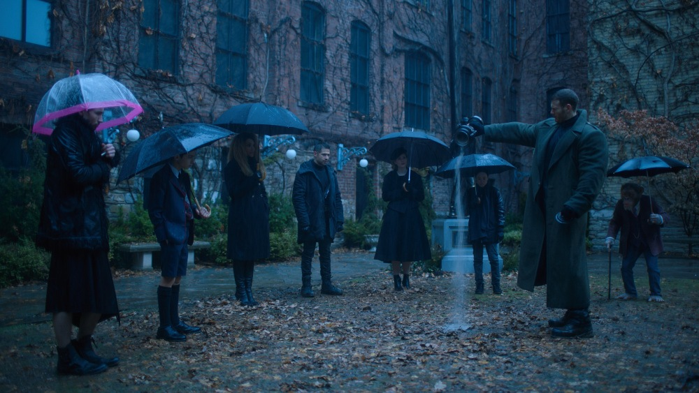 Umbrella Academy Father's Funeral