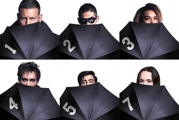 Umbrella Academy Characters