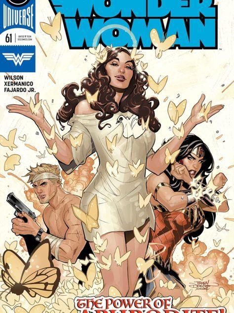 Wonder Woman #61 Cover