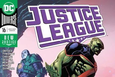 Justice League #16 Cover