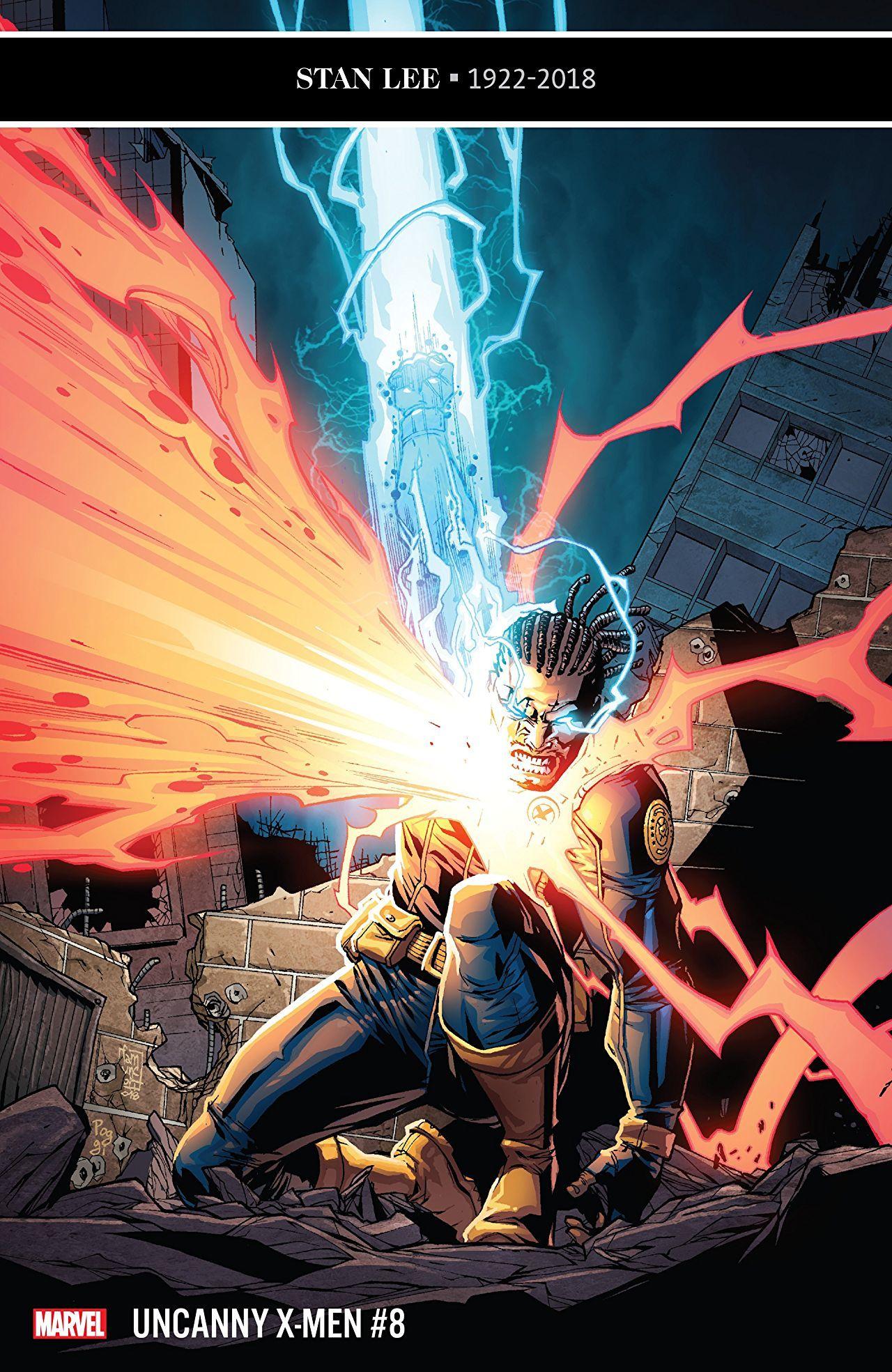 Cover of Uncanny X-Men #8