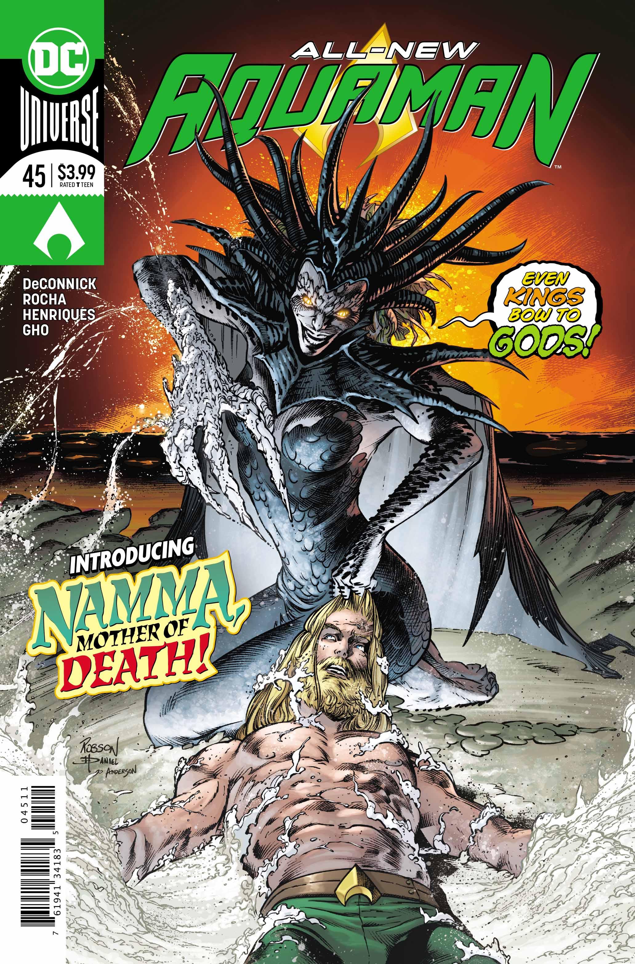 Aquaman #45 cover