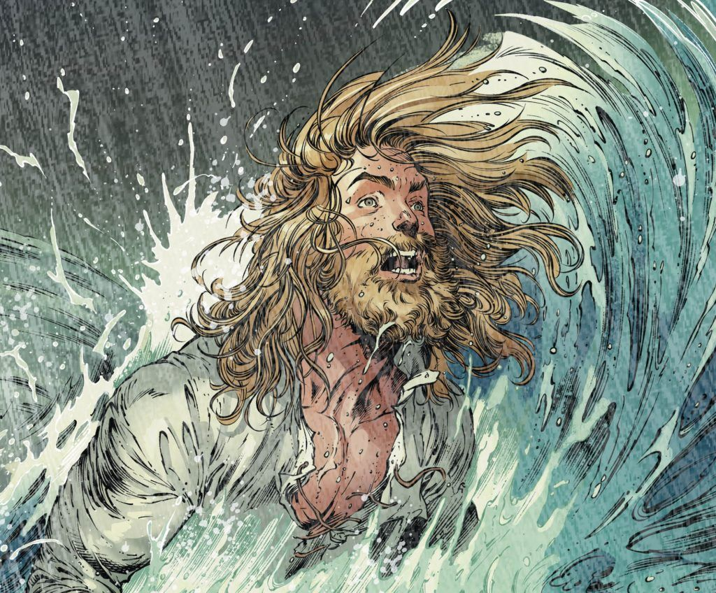 Aquaman #45 Surviving Drowning