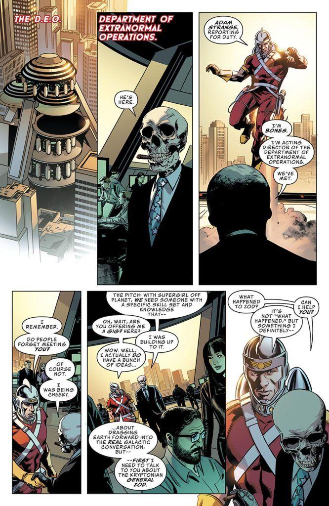 Action Comics #1008 Inside