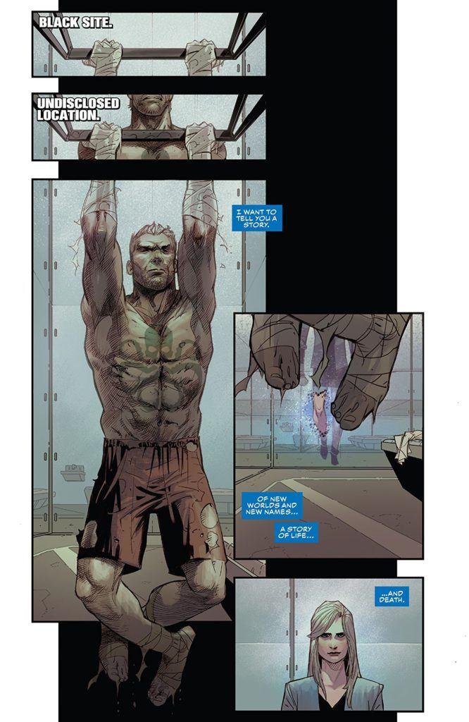Captain America #8 interior