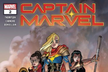 Captain Marvel #2 cover