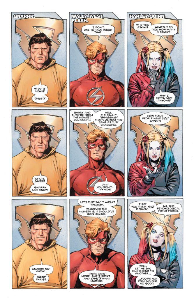 Heroes #6 Inside