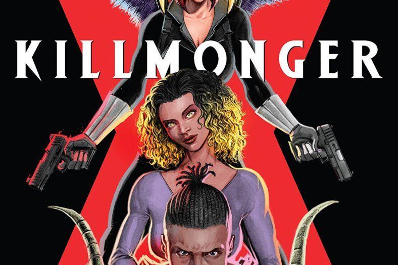 Killmonger #4 cover