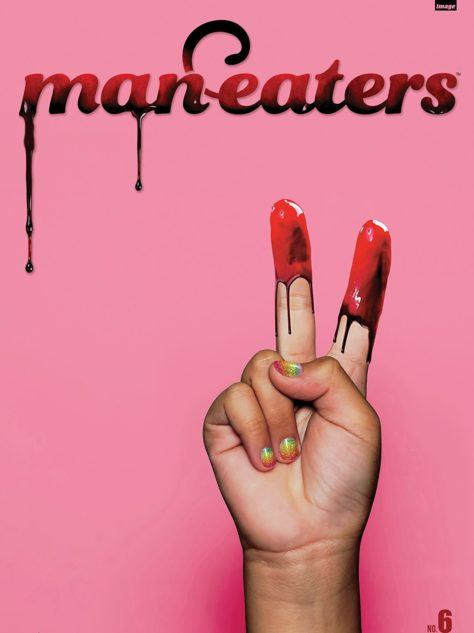 Man-Eaters #6 Cover