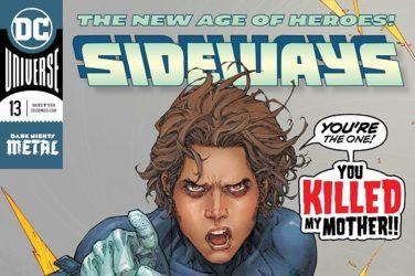 Sideways #13 Cover