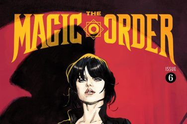The Magic Order #6 Cover