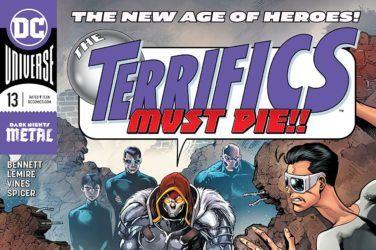 Terrifics #13 Cover