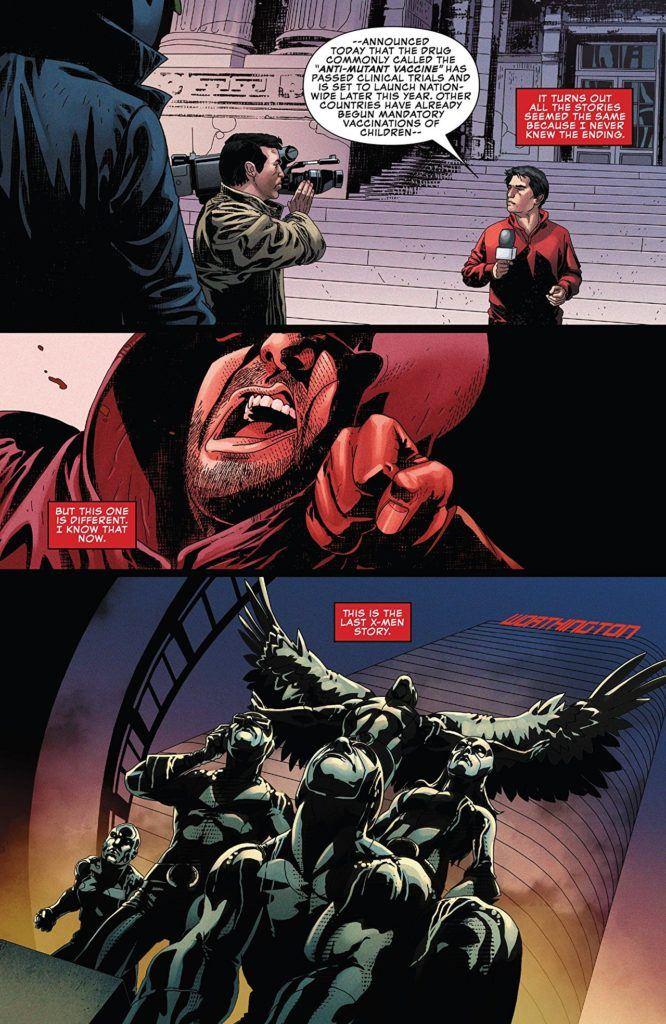 Uncanny X-Men #11 Inside