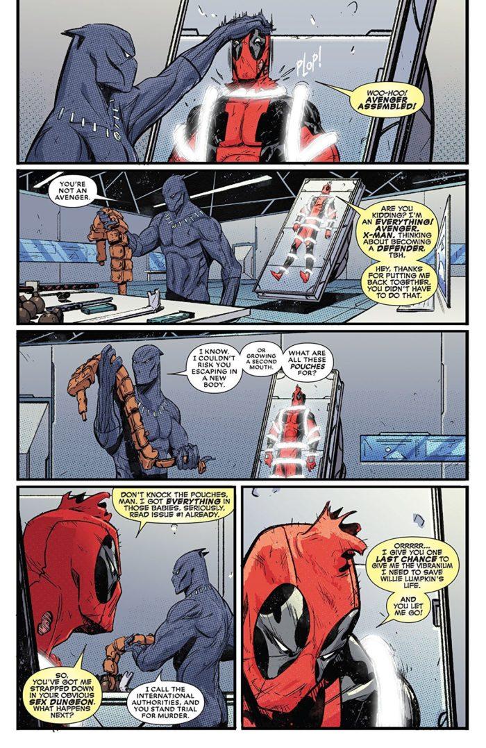 Black Panther vs Deadpool #4