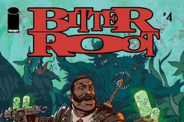 Bitter Root #4 Cover
