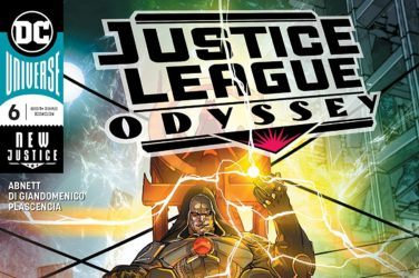 Justice League Odyssey #6 Cover