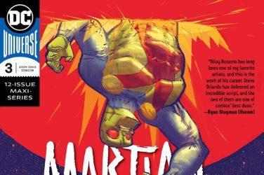 Martian Manhunter #3 Cover
