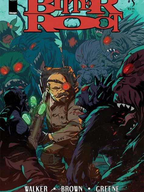 Bitter Root #5 Cover