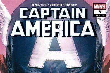 Captain America #8 cover