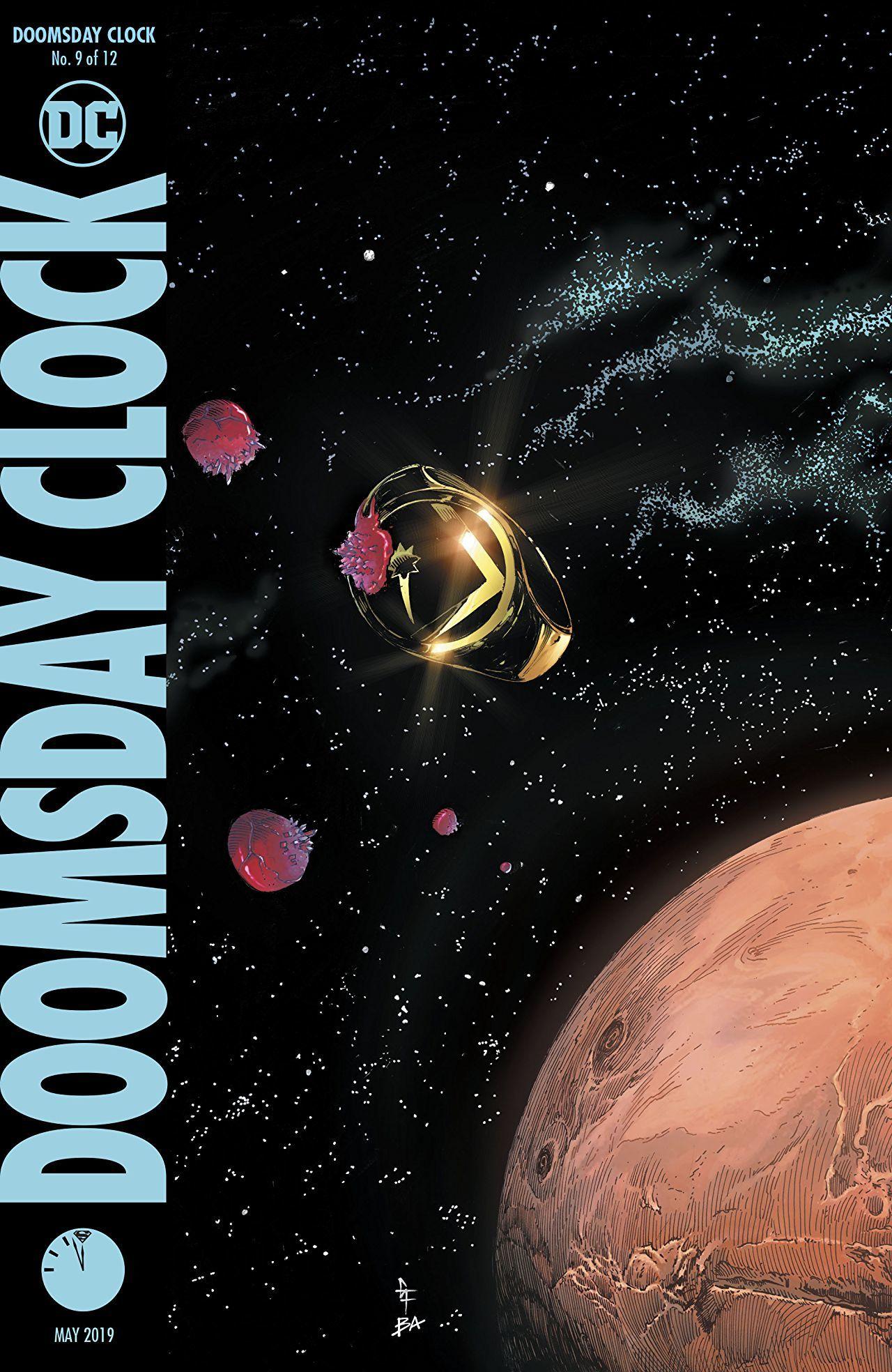 Doomsday Clock #9 Cover