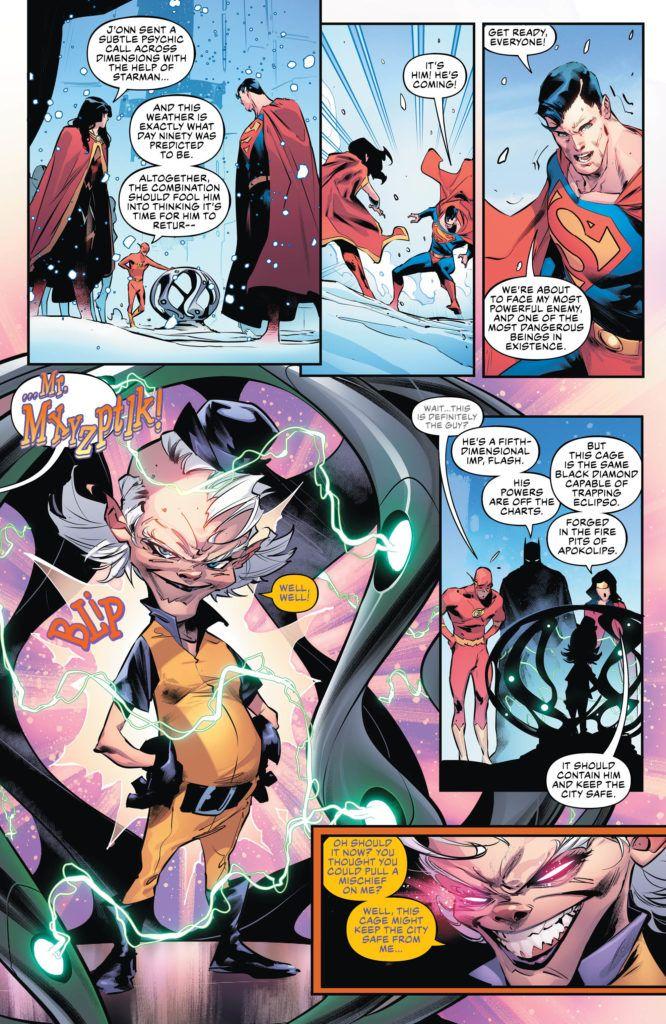 Justice League #19 Inside